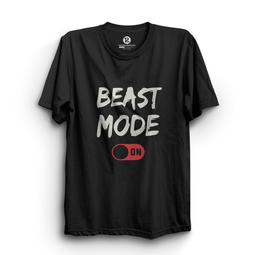 HS- BEAST MODE ON (BLACK-WHITE)