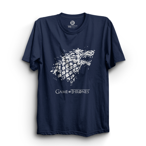 HS- GAME OF THRONES (NAVY-WHITE)
