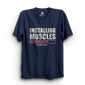 HS- INSTALLING MUSCLES (NAVY BLUE)