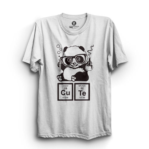 HS- CUTE PANDA (WHITE-BLACK)