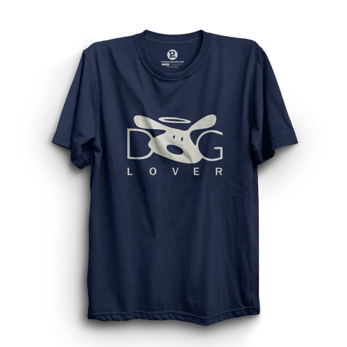 HS- DOG LOVER (NAVY-WHITE)