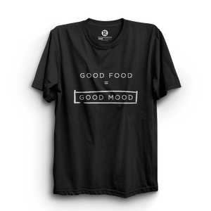HS- GOOD FOOD = GOOD MOOD (BLACK-WHITE)
