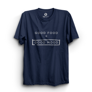 HS- GOOD FOOD = GOOD MOOD (NAVY-WHITE)