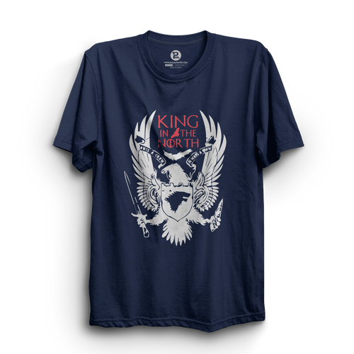 HS- KING IN THE NORTH (NAVY BLUE)