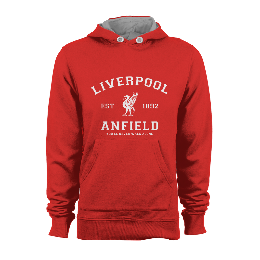 HOODIE - LIVERPOOL (RED-WHITE)