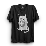 HS- HOME WITHOUT CAT (BLACK-WHITE)