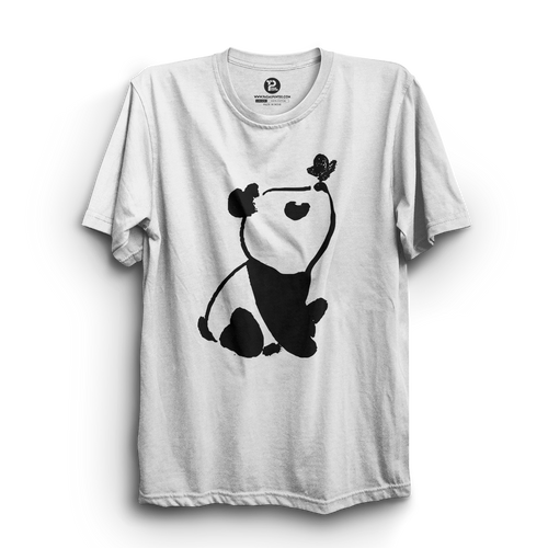 HS- PANDA BUTTERFLY (WHITE-BLACK)