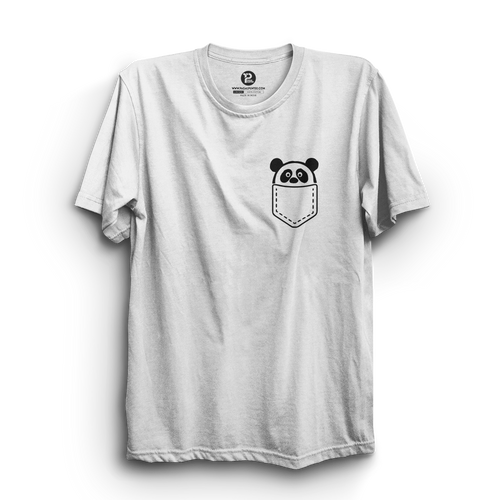 HS- POCKET PANDA (WHITE-BLACK)