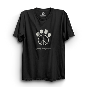 HS- PAWS FOR PEACE (BLACK-WHITE)