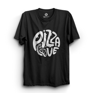 HS- PIZZA IS LOVE (BLACK-WHITE)