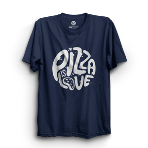 HS- PIZZA IS LOVE (NAVY-WHITE)