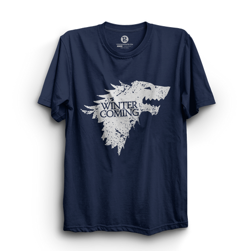 HS- WINTER IS COMING (NAVY-WHITE)