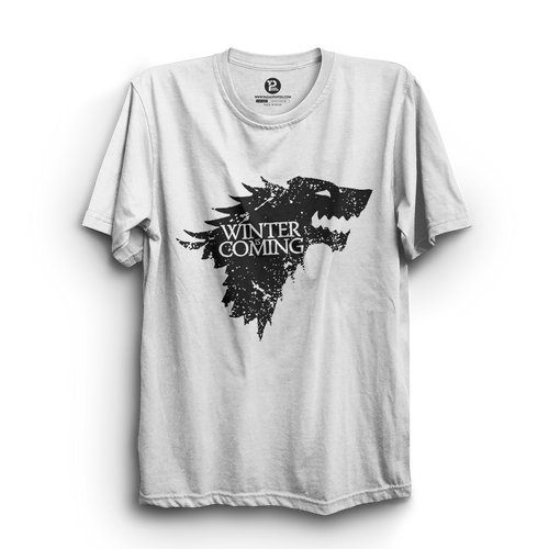 HS- WINTER IS COMING (WHITE-BLACK)