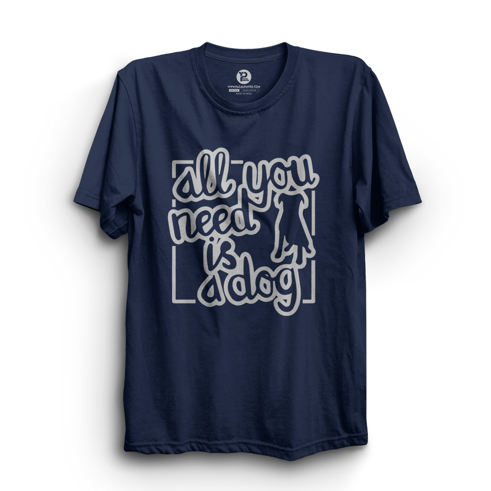 HS- YOU NEED DOG (NAVY BLUE)