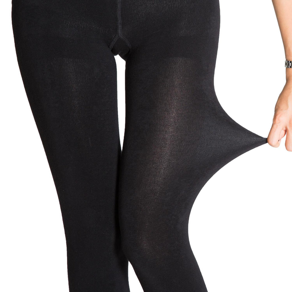 Winter Fleece Tights 2 Pairs - Nikkiaz
