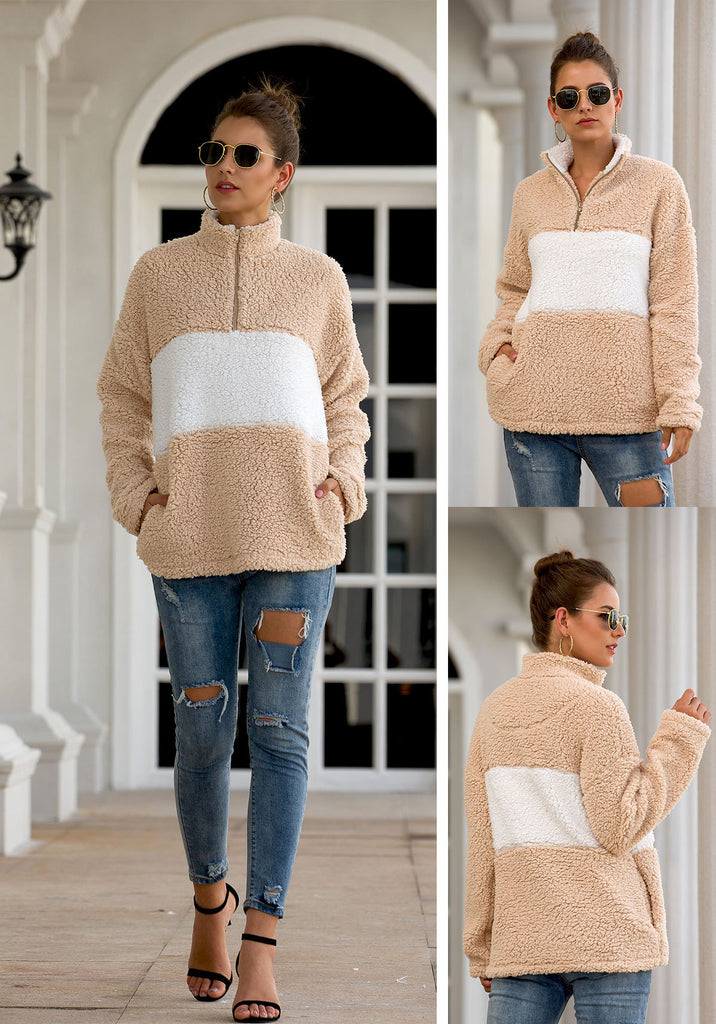 New Fashion Women's Thickness Sweatshirts - Nikkiaz