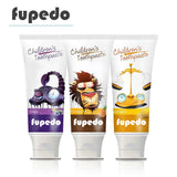 FUPEDO 2-12 years old toothpaste children fluoride-free toothpaste anti-caries organic toothpaste tooth whitening clean health teeth