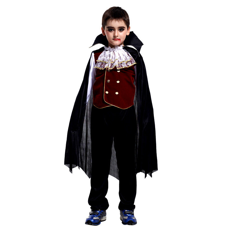 Vampire Child Cosplay Halloween Costume - Nikkiaz