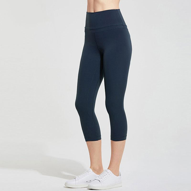 Naked Feeling Capri Yoga Leggings - Nikkiaz