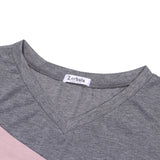 Zerbala Women's Casual V-neck T Shirt
