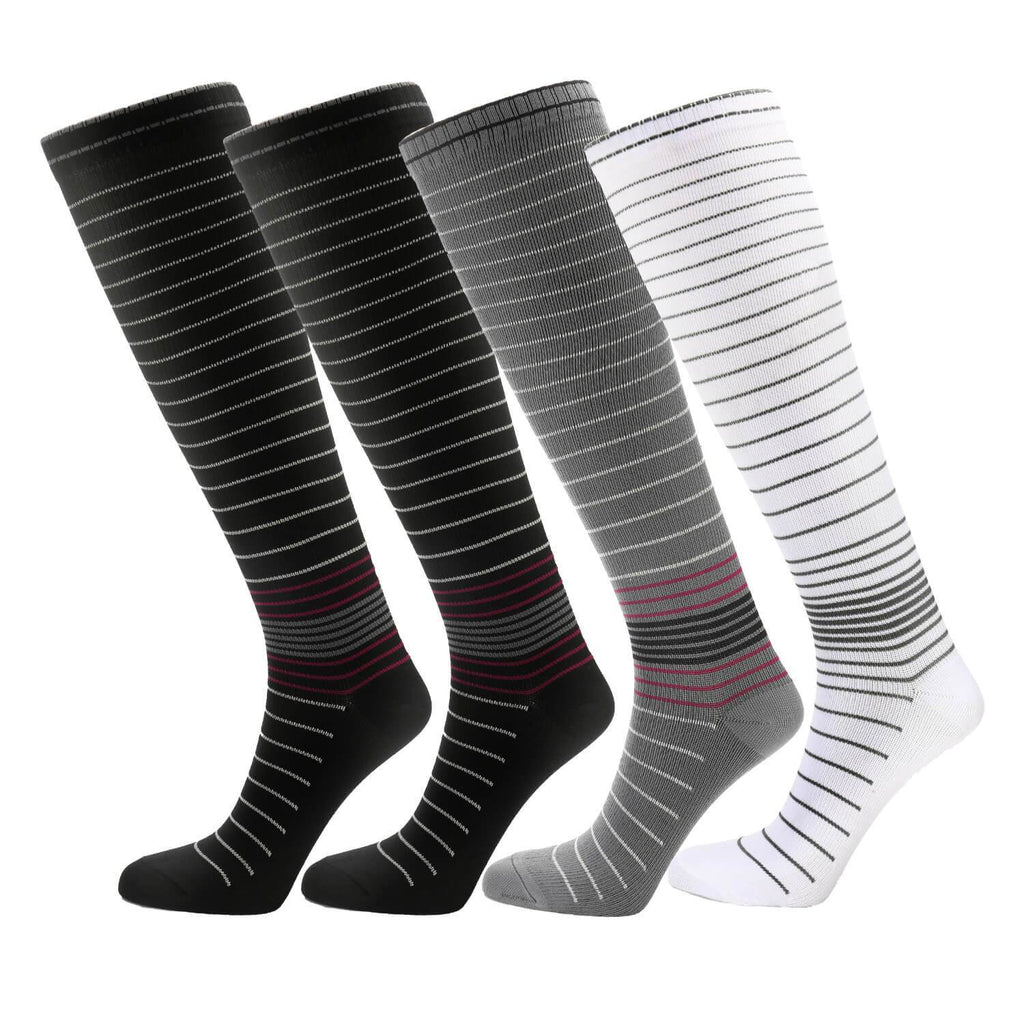 Moderate Graduated Compression Socks - Nikkiaz