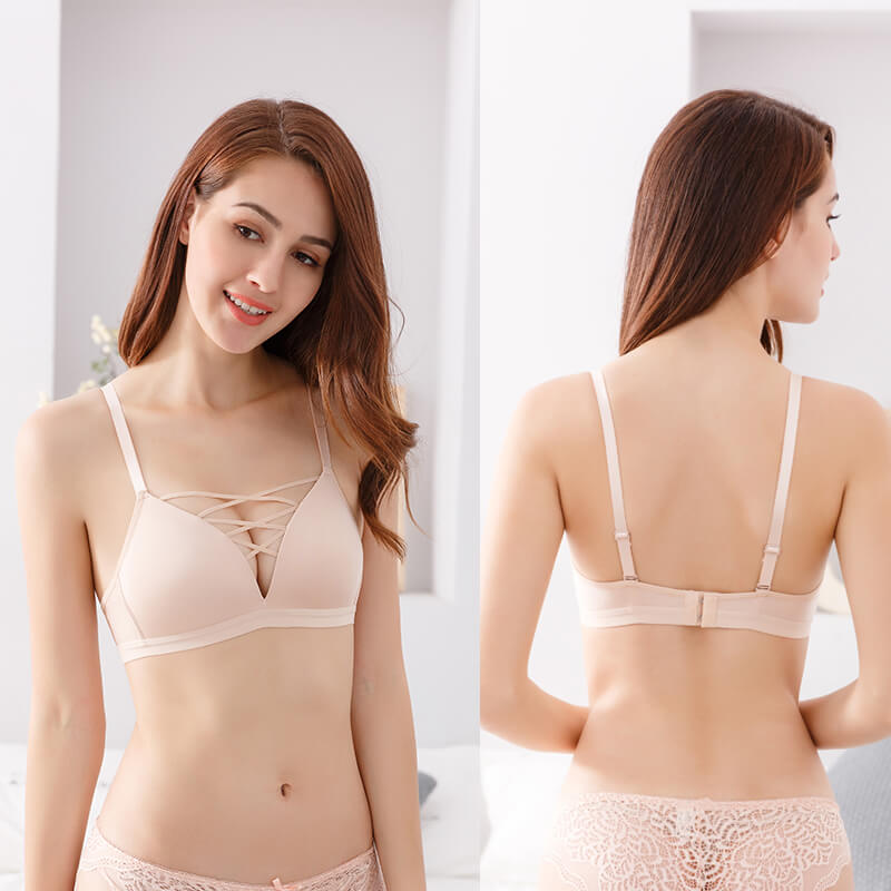 Thin Super Push Up Bra - Nikkiaz