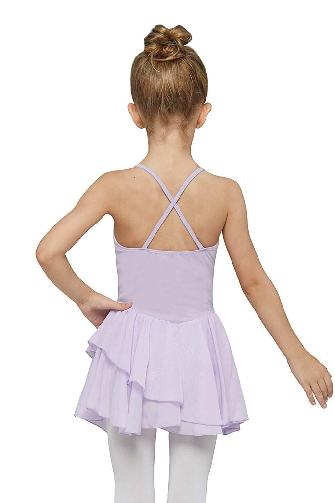 Girls' Skirted Camisole Leotard - Nikkiaz