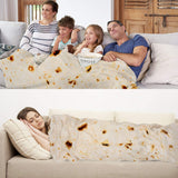 Burrito Blanket Winter Tortilla Blanket Warp Soft Warm - Nikkiaz