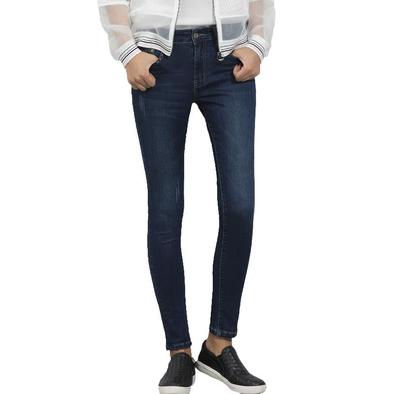 Skinny Denim Full Length Women Jeans