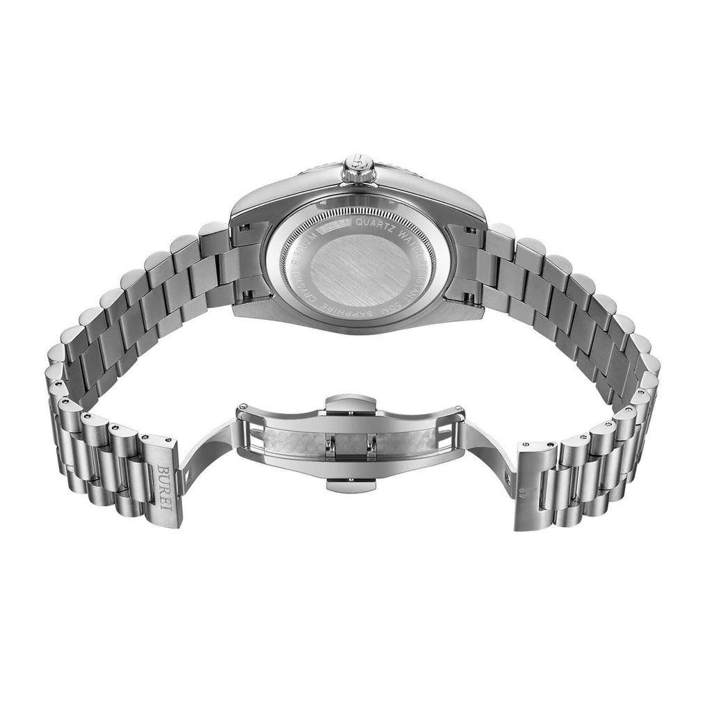 Stainless Quartz Watch - Nikkiaz