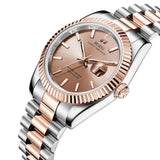 Classic Stainless Quartz Watch - Nikkiaz