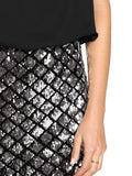 Sexy Layered Sparkle Sequin Tank Dress - Nikkiaz