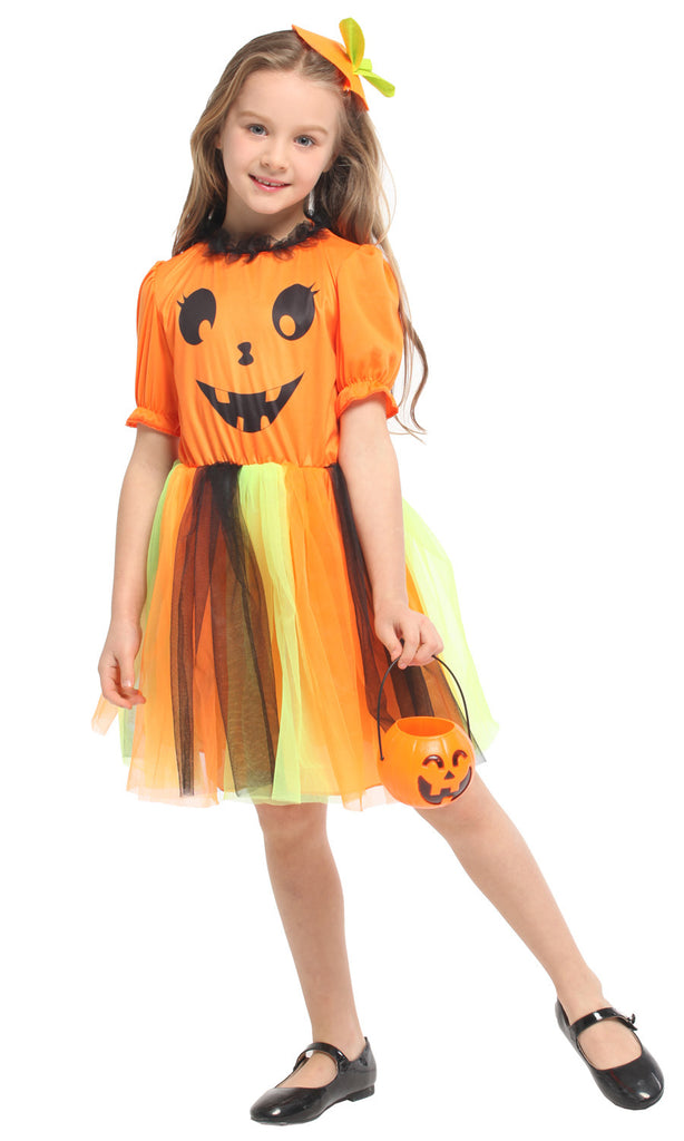 Kids Pumpkin Costume - Nikkiaz