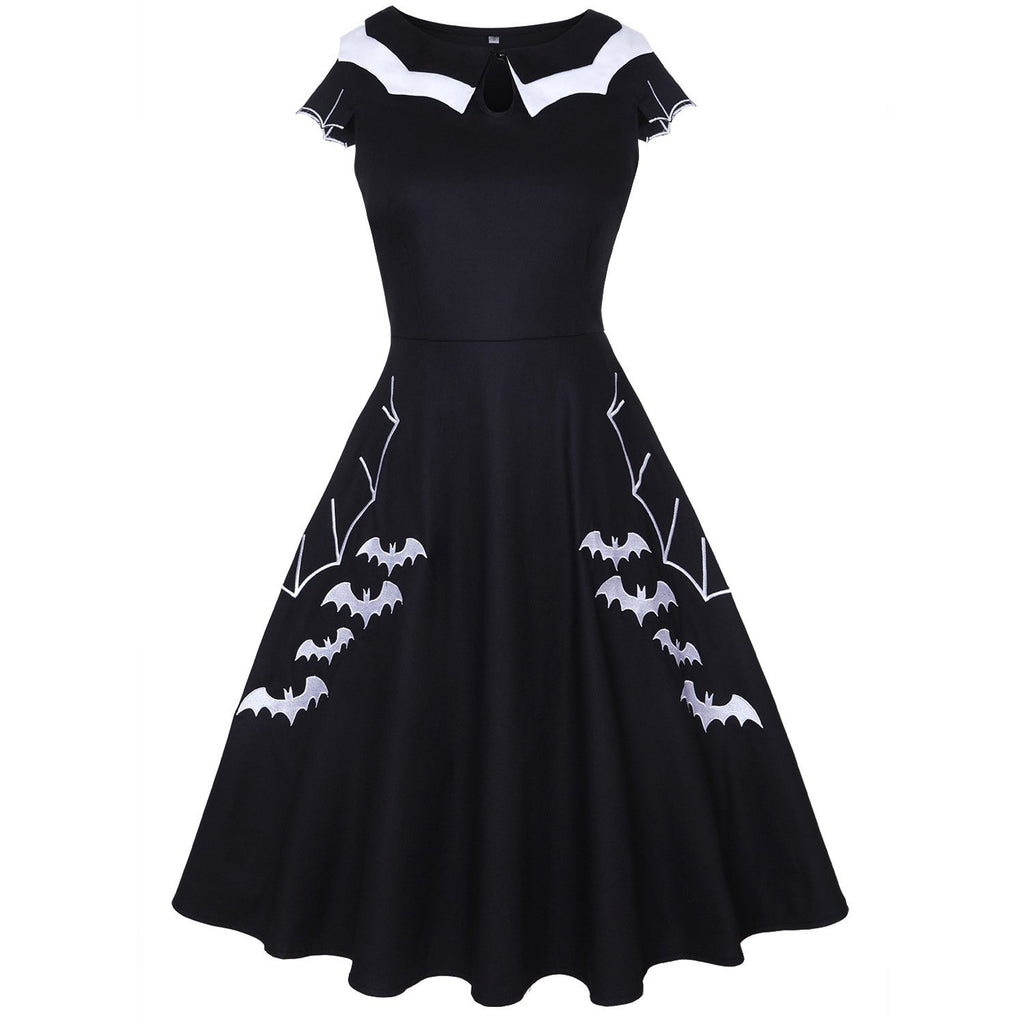 Cute Bat Dress - Nikkiaz