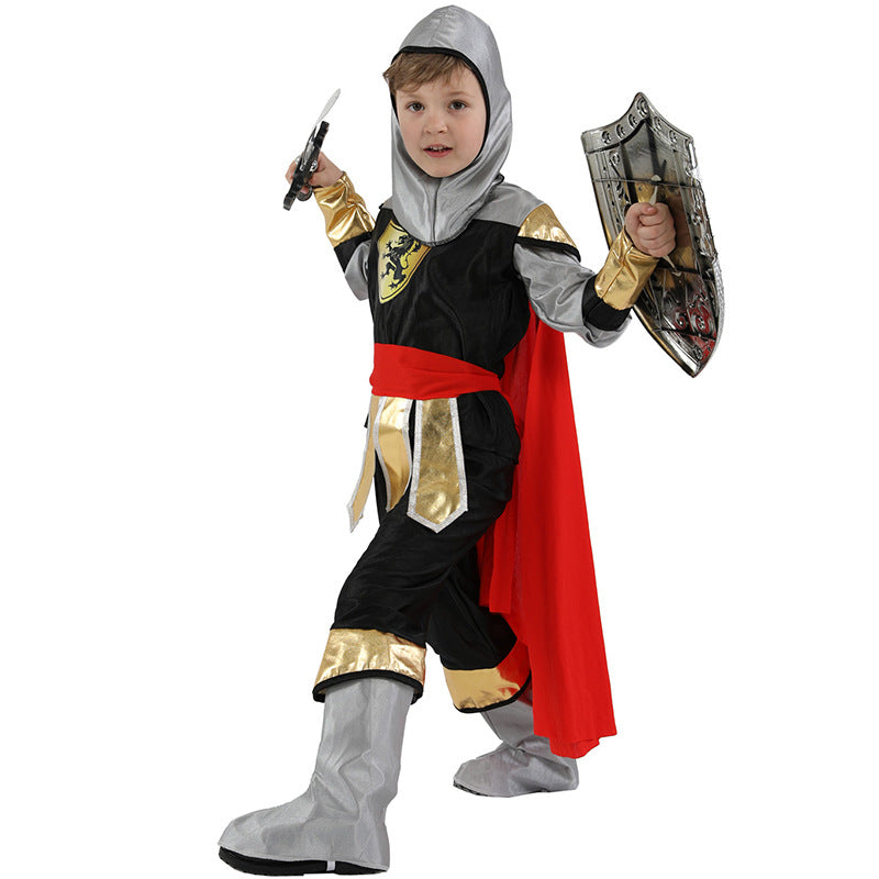 Warrior Child Halloween Costume - Nikkiaz