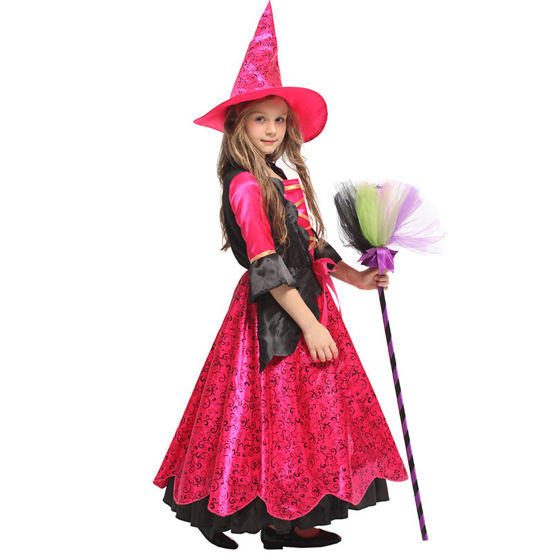 Kids Mystic Witch Costume - Nikkiaz