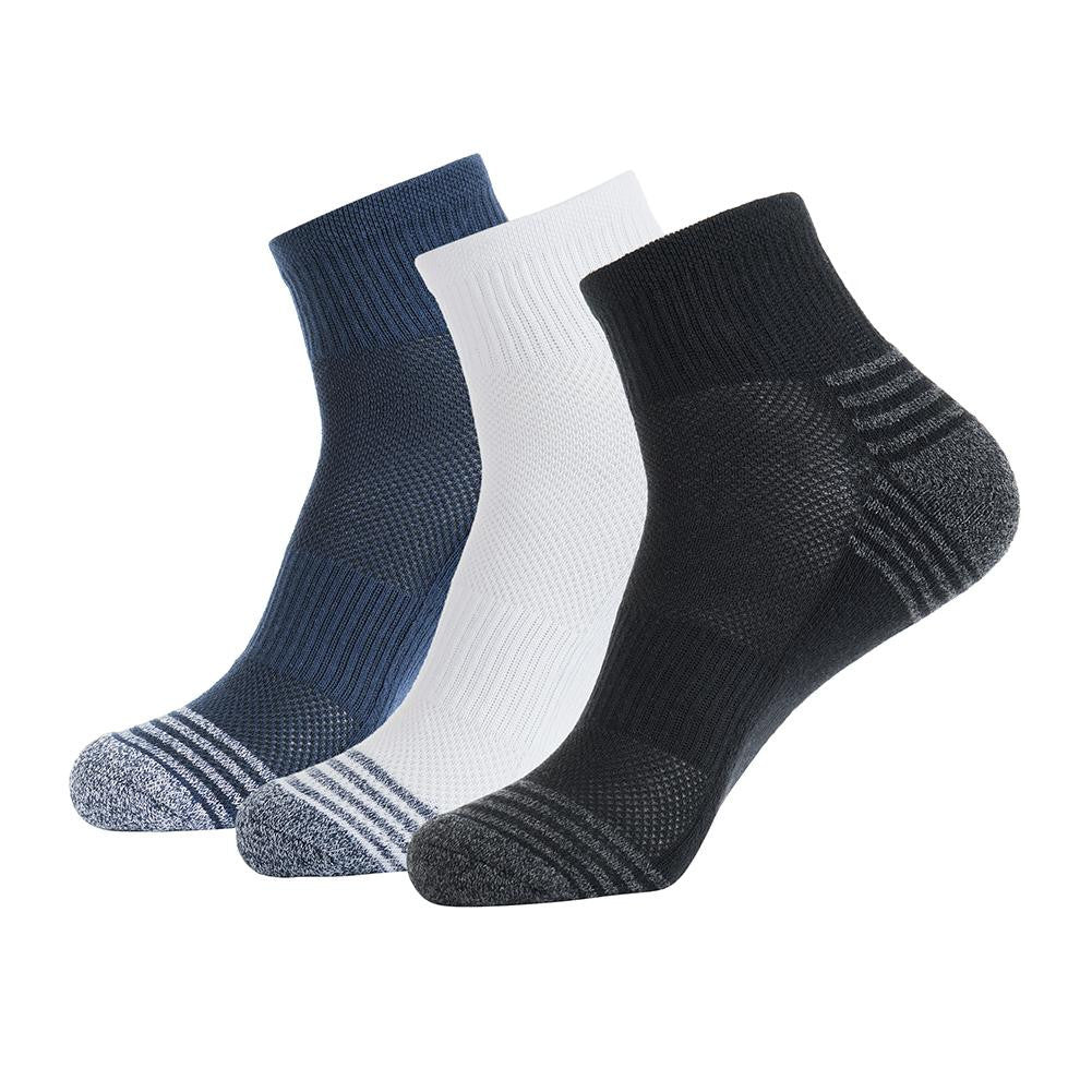 Athletic Ankle Running Socks 3 Pairs - Nikkiaz