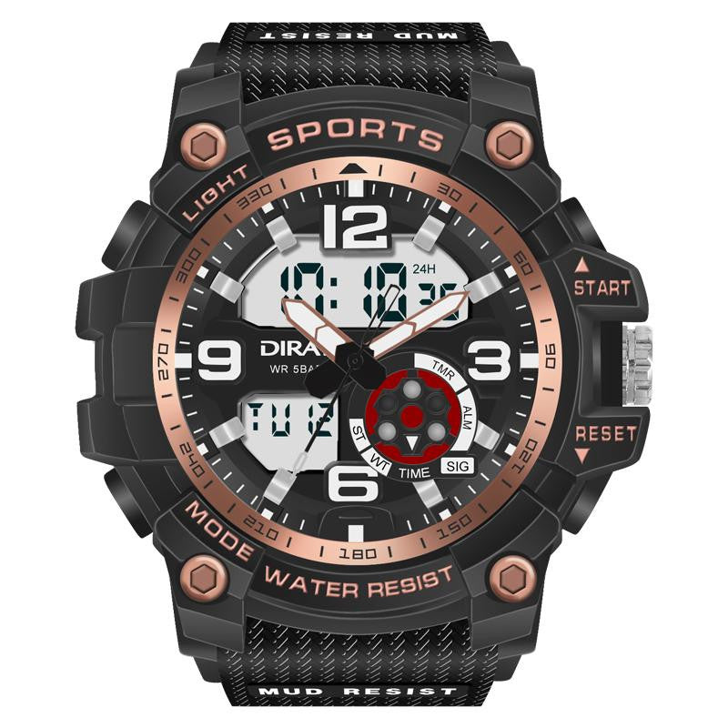 Digital Waterproof LED Watch for men - Nikkiaz