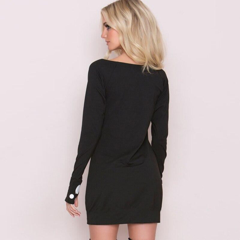 Cat Bodycon Off Shoulder Mini Dress - Nikkiaz