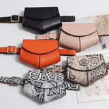 Fanny Pack Ladies PU Leather Waist Belt Bag - Nikkiaz