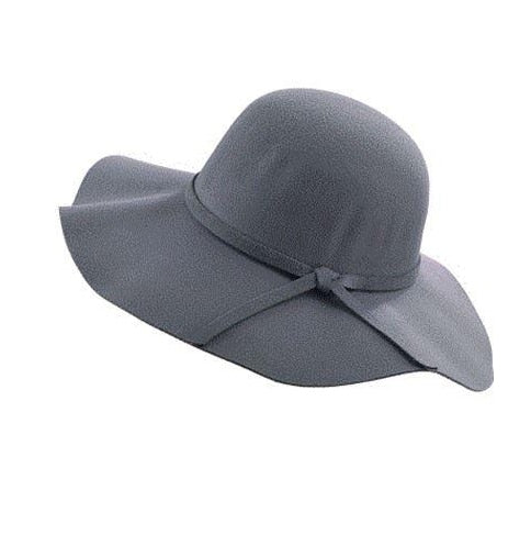 Autumn Winter Summer Fashion Fedoras Vintage Pure Women's Beach Sun Hat - Nikkiaz