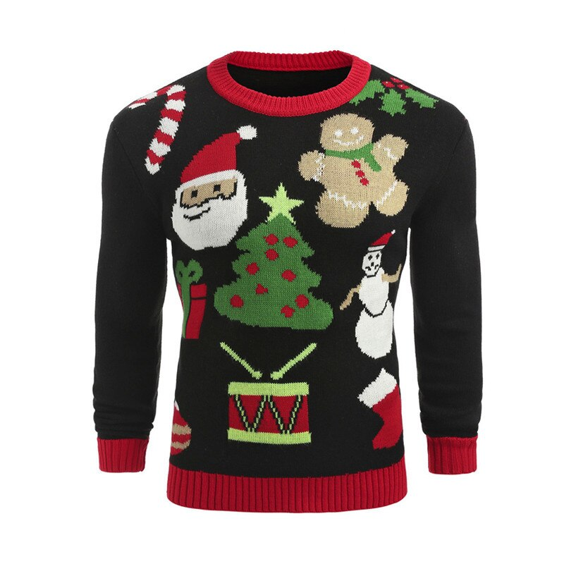 Ugly Christmas Pullover Sweaters Winter - Nikkiaz