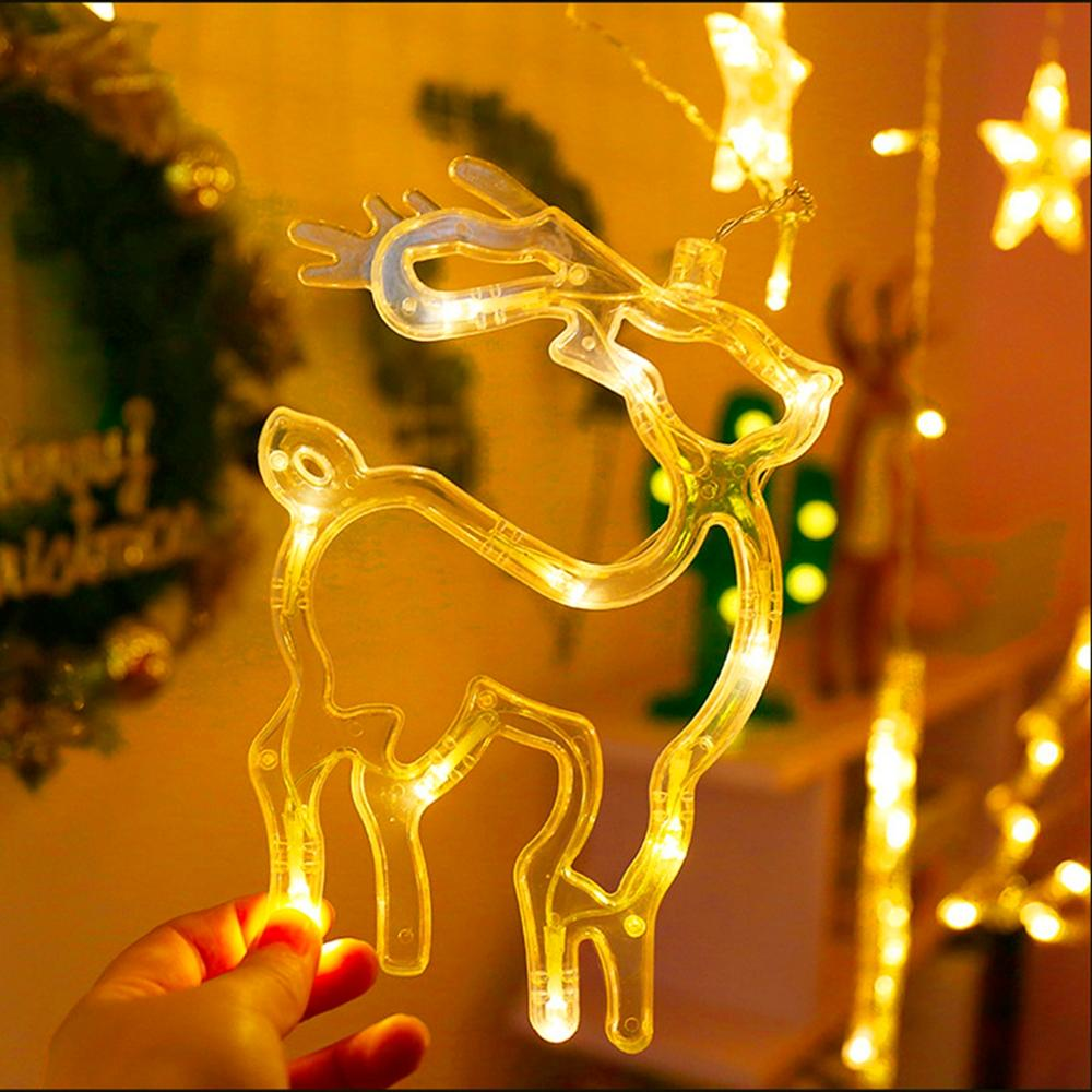 String Light LED Christmas Decor For Home Hanging Garland Christmas Tree Decor - Nikkiaz