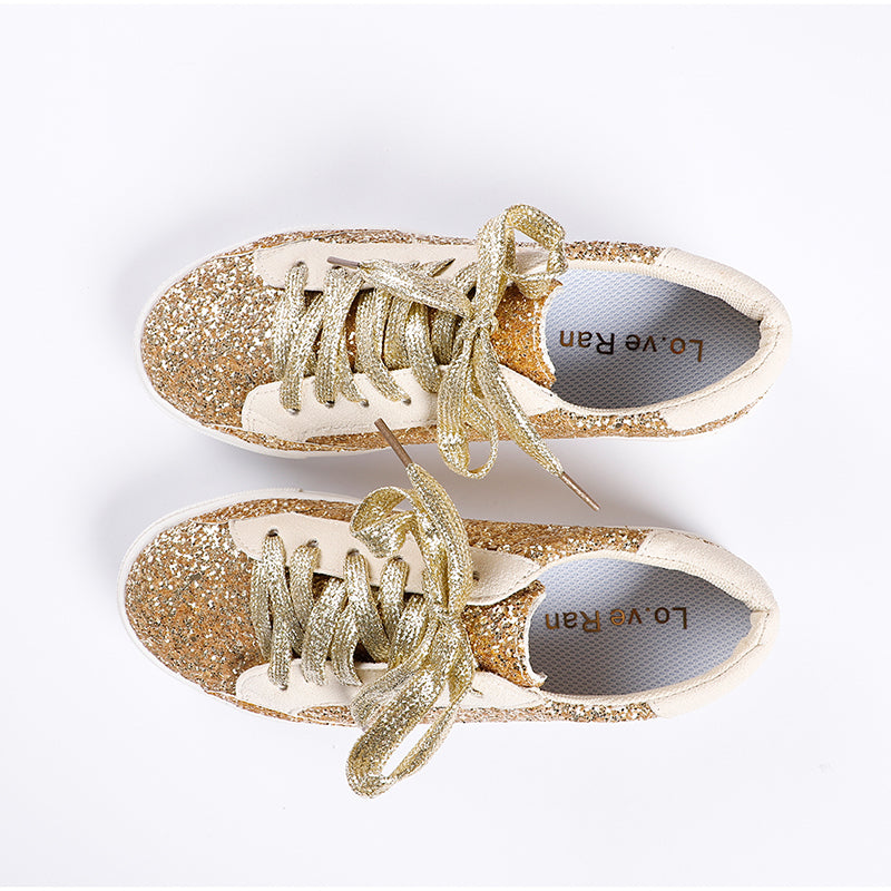 Lo.ve Ran Women's Spring Autumn Comfy Shallow Loafers Sneakers