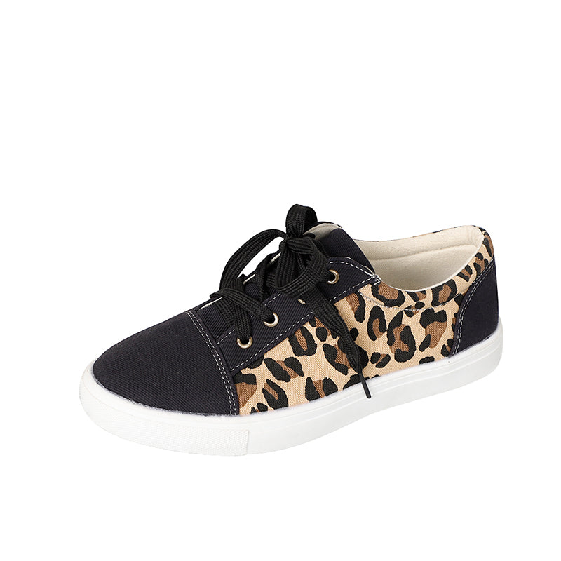 Meet Romance 2020 Fashion Shoes Women's Leopard Print Wild Women's Sneakers Shoes Increased Casual Shoes Chaussures Femme