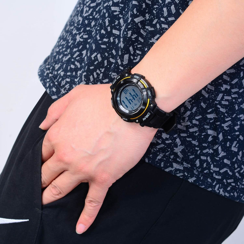 Digital Multi-functional Sport Watch - Nikkiaz