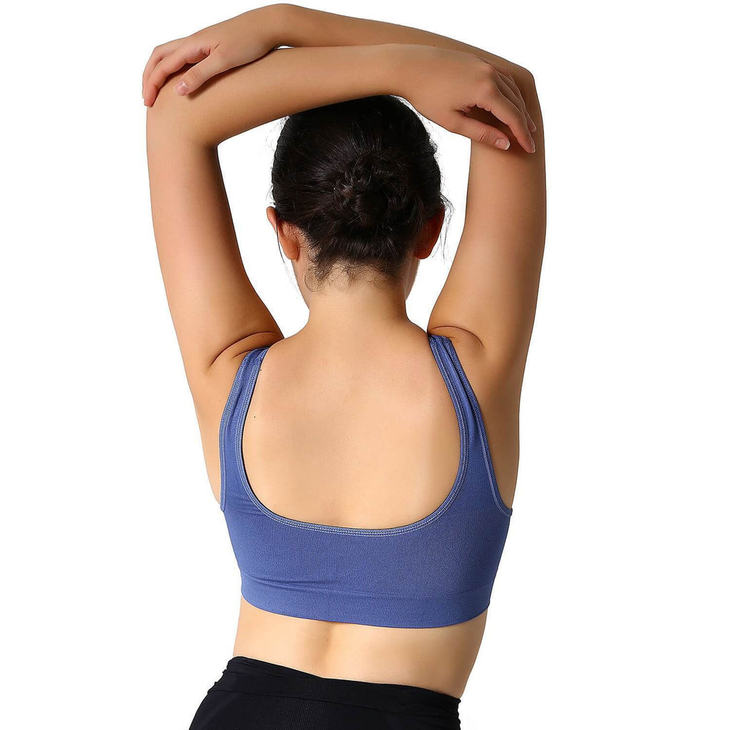 Seamless Sports Bra - Nikkiaz