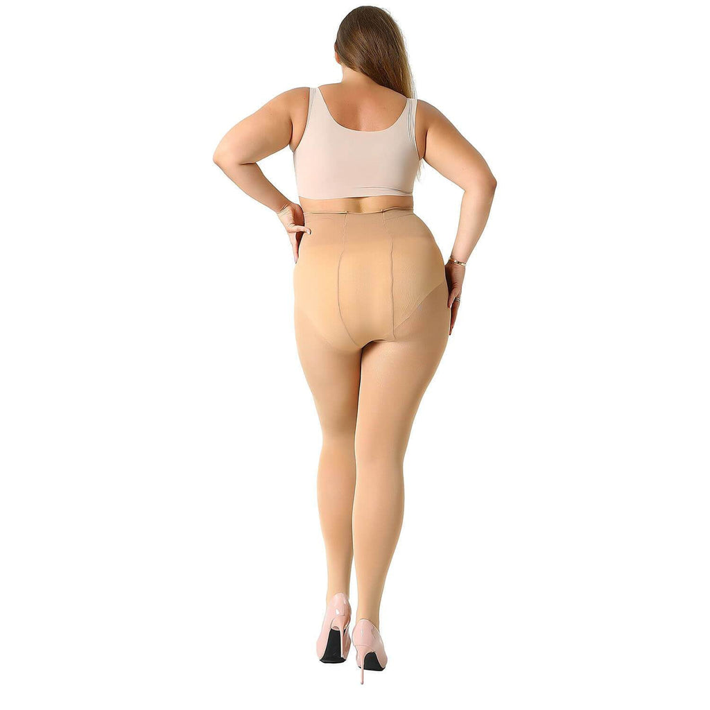 Plus Size Casual Tights - Nikkiaz
