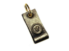 Load image into Gallery viewer, Gold & Grey Multi Logo Keyrings