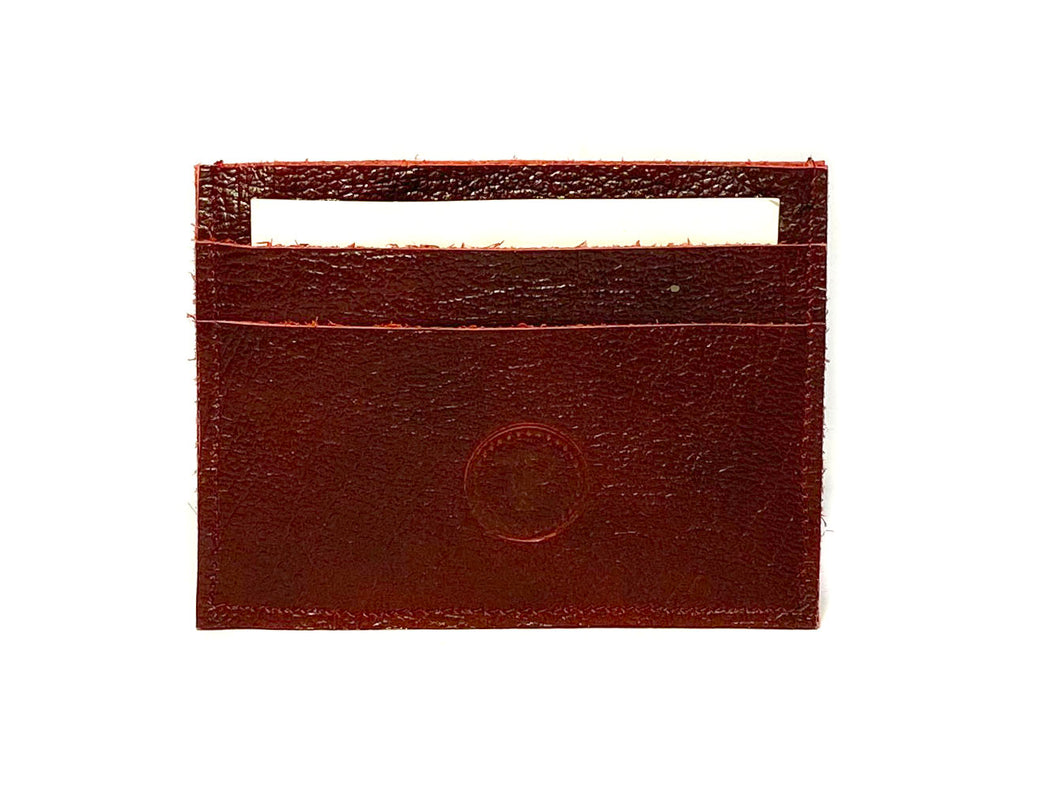 Red Wine Card Case 5 Slots